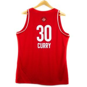West NBA All Star #30 Curry Basketball Jersey